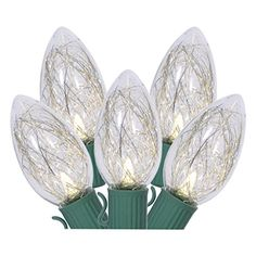Vickerman 48 Light C9 LED Light Set 16 Function Control Warm White Tinsel Lights on Green Wire >>> You can find out more details at the link of the image.