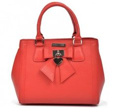 Ledertasche in Rot Marken Outlet, Bags, Beauty Products, Leather Satchel, Handbags, Red, Totes, Lv Bags, Taschen