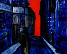 german expressionist painting | Drawing Near, German Expressionism Painting By Joseph Minton