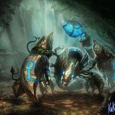 League of Legends Champion Art Featuring Kienan Lafferty