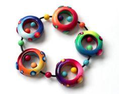Polymer Clay Bracelet Nidos