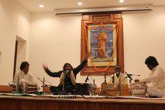 Janab Mir Mukhtiyar Ali performing at the Vivekananda Auditorium, Ramakrishna Mission, Delhi, via Flickr.