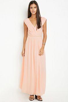 Bejeweled Waist Maxi Dress