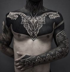 Black Tattoos For Men - Best Tattoo Ideas For Men: Cool Badass Tattoos For Guys - Awesome Designs Top Tattoos, Trendy Tattoos, Unique Tattoos, Black Tattoos, Body Art Tattoos, Sleeve Tattoos, Tatoos, Symbolic Tattoos, Body Mods