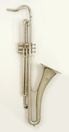 """Valve trombone in saxophone shape. Nominal pitch: B♭."""