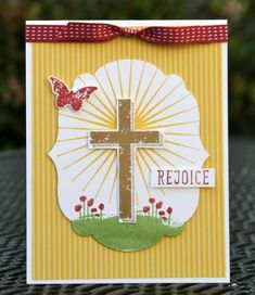 Stampin' Up! Easter Rejoice! by skdeleeuw - Cards and Paper Crafts at Splitcoaststampers