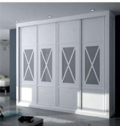 Armarios puertas correderas cruz Decor, Outdoor Decor, House, Home, Deco, Wardrobes, Closet, Bedroom Decor, Doors