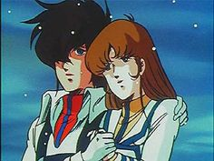 Robotech: Macross Saga - Rick Hunter and Lisa Hayes