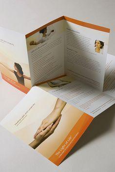 tri fold booklet