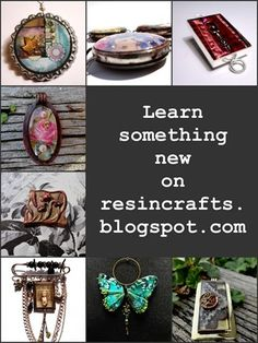 Resin Project Blog. Tons of ideas and how-to's!
