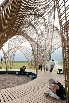Forest Pavilion, Da Nong Da Fu Forest and Eco-park Hualien, Taiwan designed by…