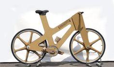 Inglês cria bicicleta de papelão para minimizar índices de roubos #bicicleta #bikes #ideas