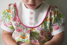 a playdate dress for vintage may by supergail, via Flickr