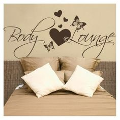 "Style and Apply Body Lounge Wall Decal Color: Royal Blue, Size: 14"" H x 31"" W"