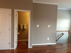 Sherwin Williams Perfect Greige and Accessible Beige, the perfect cool neutral color combo.