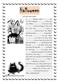 HALLOWEEN pictionary worksheet - Free ESL printable worksheets made by teachers Halloween Worksheets, Halloween Activities, Holiday Activities, Halloween Themes, Halloween Fun, Halloween Costumes, English Lessons, Learn English, Verbo Can