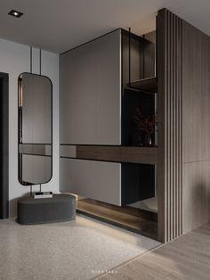 Wardrobe Door Designs, Wardrobe Design Bedroom, Bedroom Furniture Design, Modern Bedroom Design, Home Room Design, Home Interior Design, Living Room Designs, House Design, Hallway Furniture