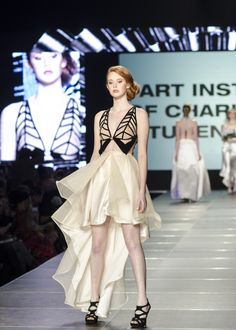 Art Institute of Charleston Student Show at Charleston Fashion Week 2014 by Charleston Shop Curator  www.charlestonshopcurator.com #artinstitute #studentfashion #charleston #artinstituteofcharleston #charlestonfashionweek #cfw2014 #chsfw