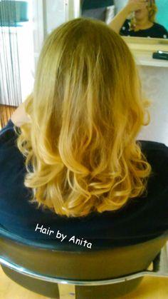 Curly Blowdry, Blow Dry, Highlights, Balayage, Long Hair, Hair Envy, Curls