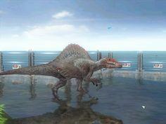 Jurassic World Dinosaurs, Jurassic Park World, Extinct Animals, Prehistoric Animals, Godzilla, Spinosaurus Aegyptiacus, Shadow Dragon, Dinosaur Art, Tyrannosaurus Rex