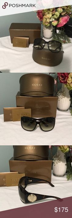 Gucci sunglasses New Gucci sunglasses never been worn no scratches more of an over size sunglasses Gucci Accessories Glasses