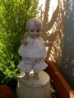 bambola tedesca di biscuit