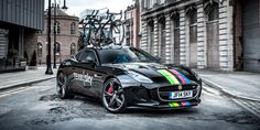 """Team SkyさんはTwitterを使っています: """"Wow! @Jaguar are rolling out this special F-TYPE to support Sir Bradley Wiggins at #ParisNice: http://t.co/4NRaTCSnaE http://t.co/aMzQhFuf27"""""""