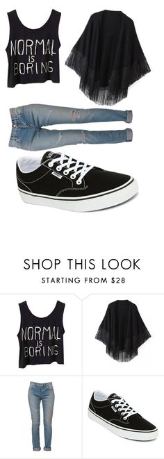 """Okay?"" by julianae101 on Polyvore featuring beauty, Relaxfeel, Yves Saint Laurent and Vans"