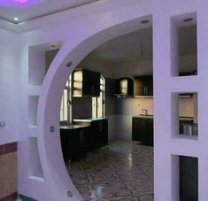Wall Partition Design, Living Room Partition, Tv Wall Design, Foyer Design, Archways In Homes, Modern Minimalist House, Wall Unit Designs, Plafond Design, Home Building Design