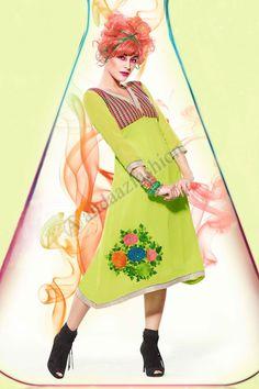 Green Georgette Kurti Design No. DMV12796 Price:- £35.00 Dress Type:Kurti Fabric:Georgette Colour:Green Embellishments:Embroidered, Resham, Zari work For More Details:- http://www.andaazfashion.co.uk/womens/kurti-tunic/green-georgette-kurti-dmv12796.html