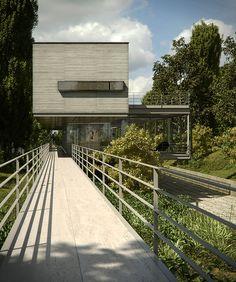 Casa Ponce    3D render of Casa Ponce, Argentina, (architect: Mathias Klotz).