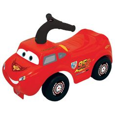 Disney Cars loop- en duwfiguur  De kleinste fans van Disney Cars kunnen nu door het huis racen op de rug van Bliksem McQueen! Hoor de coole motorgeluiden muziek en Bliksem McQueen's lievelingsliedje. Door met je voetjes op de vloer af te zetten kom jij overal.  EUR 29.74  Meer informatie