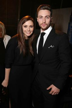 Elizabeth Olsen & Aaron Taylor - Johnson