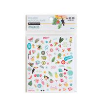 Tropical Life Flat Stickers By Recollections