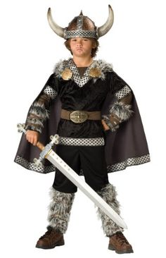 In Character Kids Norse Viking Warrior Boys Costume, costumes are tailored in a way these legendary warriors were dressed.
