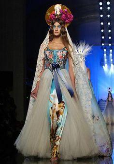 Défilé Jean Paul Gaultier Printemps-été 2007 Haute couture   Le Figaro Madame