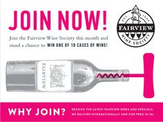 Join now - you could win 10 cases of wine! Wine Society, Wine Case, Give It To Me, Bottle, Day, Glass, Join, Club, Friends