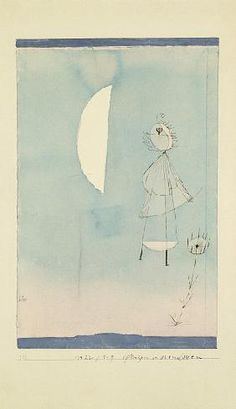 Paul Klee - Plants in the Moonlight