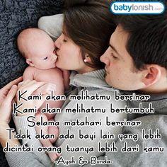 Ayah & Bunda, Cintailah anakmu dengan sepenuh hati. Kata bijak dari www.babylonish.com