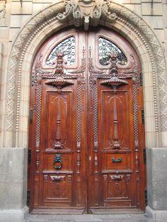 San Luis Potosi church door