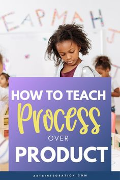 In the arts, the process is many times overshadowed by the product. However, we cannot overlook the importance of the process and what it means to any art form. Here's a few tips for making that possible. Visual Thinking Strategies, Teaching Strategies, Importance Of Art, Heritage Month, Indian Heritage, Helping Children, Place Values, Process Art, Creative Teaching