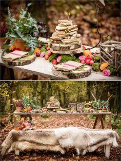 decoratie herfst bruiloft