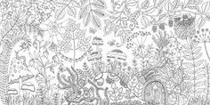 Image result for Enchanted Forest: An Inky Quest and Colouring Book
