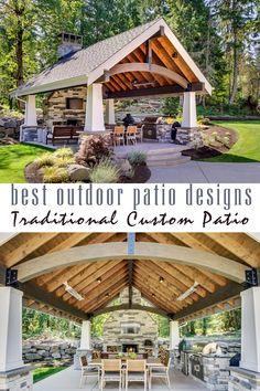 tradycyjne niestandardowe patio - najlepsza kolekcja wzorów zewnętrznych patio według craft-mart