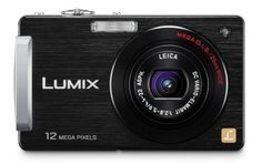 Panasonic Lumix DMC-FX580 12MP Digital Camera with 5x MEGA Optical Image Stabilized Zoom and 3 inch LCD (Black) by Panasonic. $234.00. From the Manufacturer                Panasonic's new touch-screen Lumix digital camera, the slim and stylish DMC-FX580, features a 25mm ultra-wide-angle Leica DC lens with F2.8 brightness, a 5x optical zoom and 12.1-megapixel resolution.  Using the popular touch-screen operation is easy with the DMC-FX580's large 3.0-inch LCD, so b...