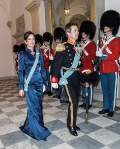 0a661c8ef732 Queen Margrethe hosted a New Year reception at Christiansborg Palace.  Famiglia Reale Danese