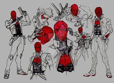 Jason Todd - Red Hood by deniford