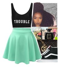 """ThisAlright"" by purplequeen04 ❤ liked on Polyvore featuring ADRIANA DEGREAS and Vans"
