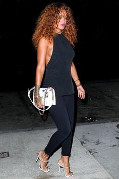 Rihanna out and about in New York. (13th August 2015)