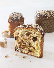 "John Barricelli, the host of ""Everyday Baking from Everyday Food,"" on PBS, prepares this chocolate-filled panettone for Christmas."